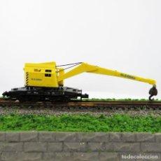 Trenes Escala: GRÚA KRUPP - ARDELT DE MINITRIX. ESCALA 1/160 N. Lote 262971935