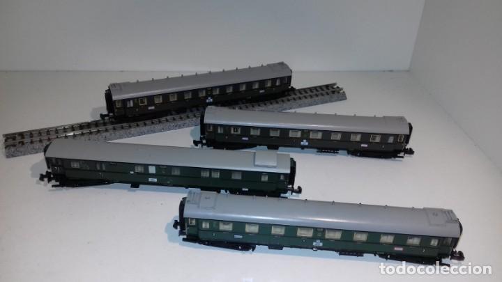 MINITRIX N 3 PASAJEROS 1 EQUIPAJES -- L49-277 (CON COMPRA DE 5 LOTES O MAS, ENVÍO GRATIS) (Juguetes - Trenes Escala N - Otros Trenes Escala N)