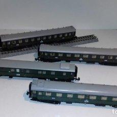 Trenes Escala: MINITRIX N 3 PASAJEROS 1 EQUIPAJES -- L49-277 (CON COMPRA DE 5 LOTES O MAS, ENVÍO GRATIS). Lote 264045010