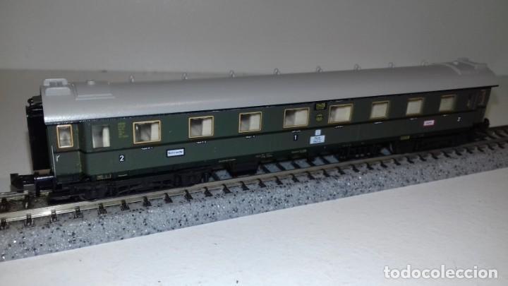 Trenes Escala: MINITRIX N 3 Pasajeros 1 equipajes -- L49-277 (Con compra de 5 lotes o mas, envío gratis) - Foto 2 - 264045010