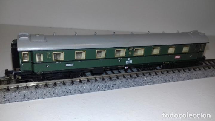 Trenes Escala: MINITRIX N 3 Pasajeros 1 equipajes -- L49-277 (Con compra de 5 lotes o mas, envío gratis) - Foto 3 - 264045010