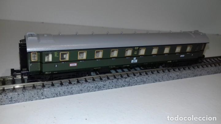 Trenes Escala: MINITRIX N 3 Pasajeros 1 equipajes -- L49-277 (Con compra de 5 lotes o mas, envío gratis) - Foto 4 - 264045010