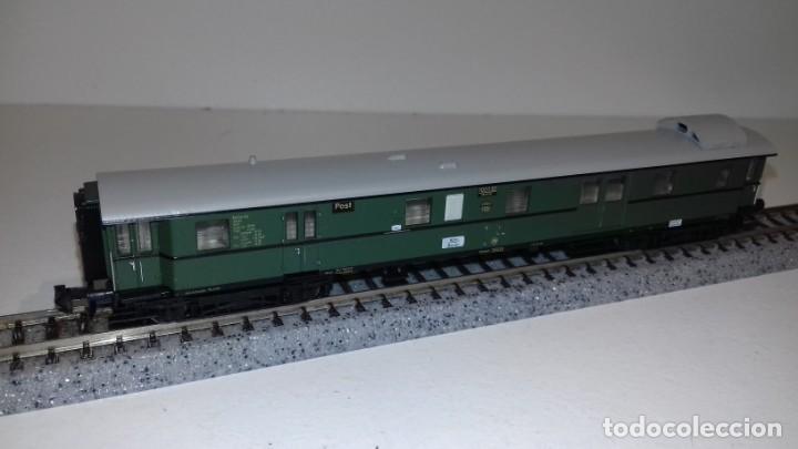 Trenes Escala: MINITRIX N 3 Pasajeros 1 equipajes -- L49-277 (Con compra de 5 lotes o mas, envío gratis) - Foto 5 - 264045010