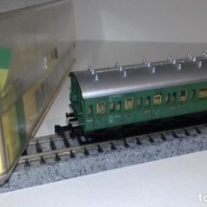 Trenes Escala: MINITRIX N PASAJEROS PRUSIANO 2ª 3ª 3059 -- L49-281 (CON COMPRA DE 5 LOTES O MAS, ENVÍO GRATIS). Lote 264228768