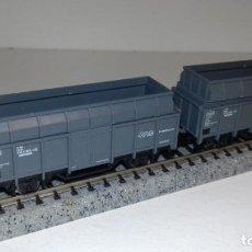Trenes Escala: MINITRIX N 2 BORDE ALTO CON ALTURA SUPLETORIA -- L49-288 (CON COMPRA DE 5 LOTES O MAS, ENVÍO GRATIS). Lote 264230096