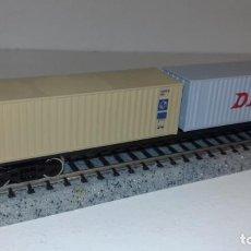 Trenes Escala: GRAFAR N PLATAFORMA CONTENEDORES -- L48-282 (CON COMPRA DE 5 LOTES O MAS, ENVÍO GRATIS). Lote 264421034