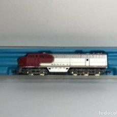 Trenes Escala: LOCOMOTORA ATLAS SANTA FE 2121 ESCALA N. NUEVA A ESTRENAR.. Lote 266031363