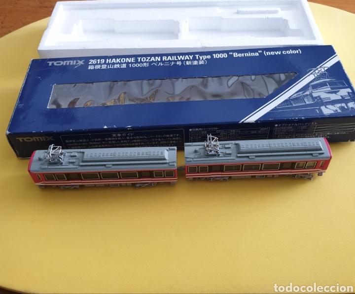 Trenes Escala: LOCOMOTORA Y UN VAGÓN DE PASAJEROS TOMIX - Foto 4 - 268169269