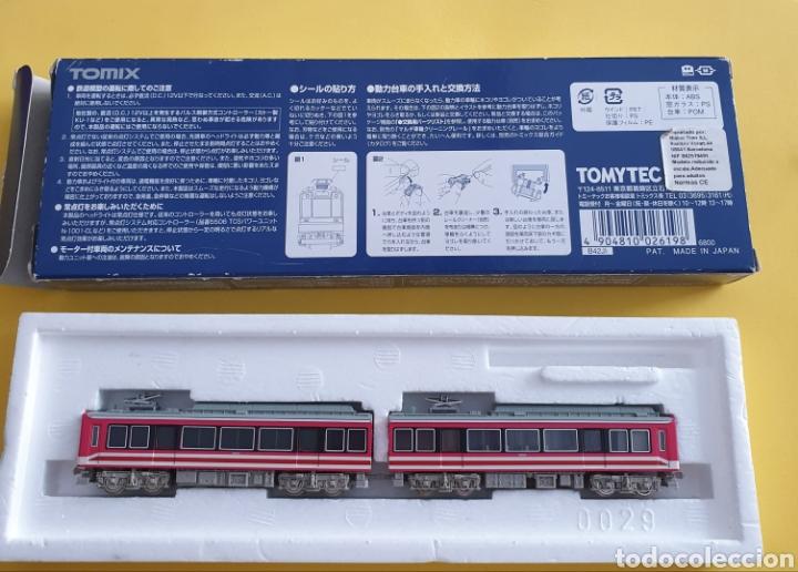 Trenes Escala: LOCOMOTORA Y UN VAGÓN DE PASAJEROS TOMIX - Foto 16 - 268169269