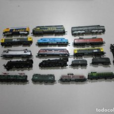 Trenes Escala: LOTE DE TRENES ESCALA N SIN MOTOR. Lote 269106958