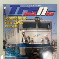 Trenes Escala: TRENMANIA 46, RENFE 269.6, AUTORRAILES PICASSO, RENFE 333 III, ALTA VELOCIDAD, MAQUETA N I, 7100. Lote 269343508