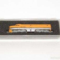 Trenes Escala: LOCOMOTORA ALCO PA-1 DUMMY DE LA CIA. AMERICANA RIO GRANDE EN ESCALA *N* DE CON-COR. Lote 273471868