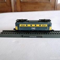Trenes Escala: CIL N LOCOMOTORA ESTÁTICA 1100 BO-BO NS HOLANDESA NUEVA. Lote 276007788