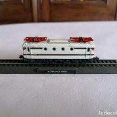 Trenes Escala: CIL N LOCOMOTORA ESTÁTICA E 700 BO-BO ONCF MARROQUÍ NUEVA. Lote 276008193