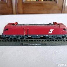 Trenes Escala: CIL N LOCOMOTORA ESTÁTICA 1016/1116 BO-B0 ÖBB AUSTRÍACA NUEVA. Lote 276010428
