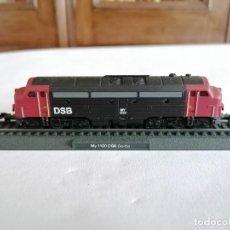 Trenes Escala: CIL N LOCOMOTORA ESTÁTICA MY 1100 CO-CO DSB DANESA NUEVA. Lote 276013088