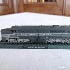 Trenes Escala: CIL N LOCOMOTORA ESTÁTICA ALCO PA-1 NEW YORK CENTRAL NYC USA NUEVA. Lote 276014943
