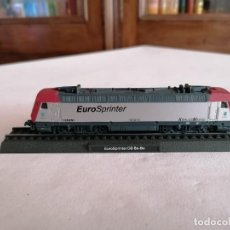 Trenes Escala: CIL N LOCOMOTORA ESTÁTICA EUROSPRINTER BO-BO DB ALEMANA NUEVA. Lote 276090353