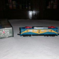 Trenes Escala: KATO N 137-1306 LOCOMOTORA ELÉCTRICA 269.601-1 MAZINGER RENFE NUEVA OVP. Lote 276611098
