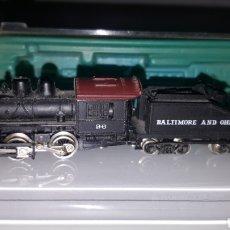 Trenes Escala: LOCOMOTORA VAPOR BALTIMORE & OHIO RIVAROSSI. Lote 277627698