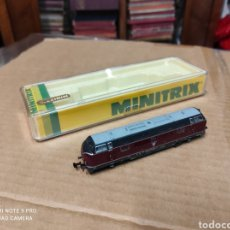 Trenes Escala: LOCOMOTORA MINITRIX REFERENCIA 2061. Lote 279442538