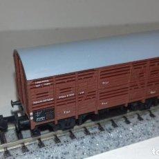Trenes Escala: MINITRIX N JAULA -- L50-048 (CON COMPRA DE 5 LOTES O MAS, ENVÍO GRATIS). Lote 280705203