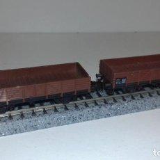 Trenes Escala: MINITRIX N 2 BORDE BAJO -- L50-049 (CON COMPRA DE 5 LOTES O MAS, ENVÍO GRATIS). Lote 280705333