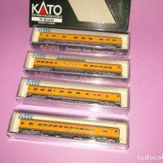 Trenes Escala: COMPOSICIÓN DE COCHES DE PASAJEROS DE CIA. AMERICANA SOUTHERN PACIFIC Y OTRAS EN ESCALA *N* DE KATO. Lote 282959663