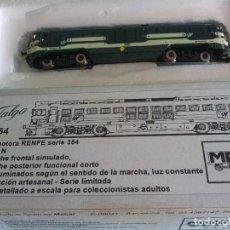Trenes Escala: LOCOMOTORA RENFE SERIE 354 TALGO - MABAR 354. Lote 287162373