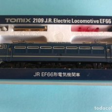 Trenes Escala: LOCOMOTORA J.R. ELECTRIC LOCOMOTIVE EF66 - TOMIX 2109. Lote 287177353