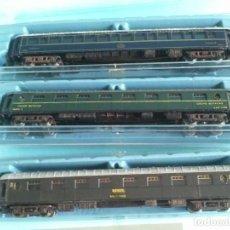 Trenes Escala: RIVAROSSI, LOTE DE TRES VAGONES DE PASAJEROS (CUSTOMIZADOS). Lote 287374473