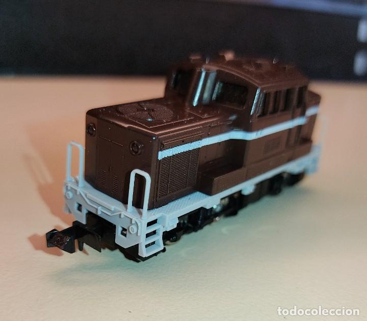 Trenes Escala: LOMOTORA DIESEL TOMIX 2026 EN EXCELENTE ESTADO - Foto 2 - 288069088