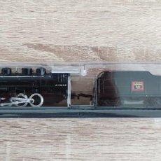 Trenes Escala: MAISTO ESC. N - LOCOMOTORA ESTATICA SIN MOTOR - A.T.& S.F. SANTA FE + TENDER BURLINGTON - USA 150GR. Lote 288381813