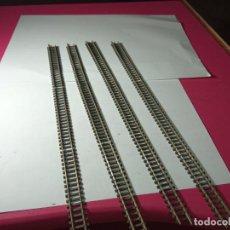 Trenes Escala: LOTE VIAS RECTAS ESCALA N DE MINITRIX. Lote 288550928