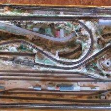 Trenes Escala: GRAN MAQUETA DE TRENES DOBLE CIRCUITO ESCALA N. Lote 288975808