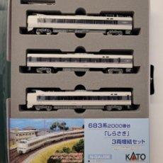 Trenes Escala: KATO 10-299 683.2000 SERIES SHIRASAGI CON LUZ COLAS, ESCALA N. Lote 289296978