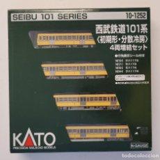 Trenes Escala: KATO 10-1252 SEIBU 101 SERIES, ESCALA N. Lote 289300983
