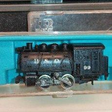 Trenes Escala: LOCOMOTORA RIVAROSSI BALTIMORE & OHIO REF: 2187 EN CAJA ORIGINAL EN MUY BUEN ESTADO DE CONSERVACION. Lote 290210558