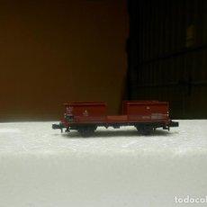 Trenes Escala: VAGÓN BORDE ALTO ESCALA N DE ROCO. Lote 292378493