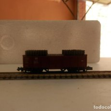 Trenes Escala: VAGÓN BORDE ALTO ESCALA N DE MINITRIX. Lote 292379108