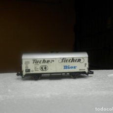 Trenes Escala: VAGÓN CERRADO ESCALA N DE MINITRIX. Lote 293877393