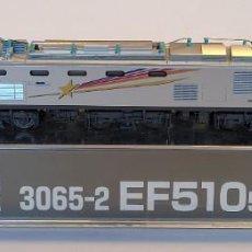 Trenes Escala: KATO- 3065-2 LOCOMOTORA ELÉCTRICA EF510, ESCALA N NUEVA. Lote 293879953