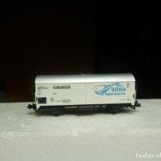 Trenes Escala: VAGÓN CERRADO ESCALA N DE MINITRIX. Lote 293978963
