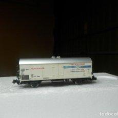 Trenes Escala: VAGÓN CERRADO ESCALA N DE FLEISCHMANN. Lote 294973068