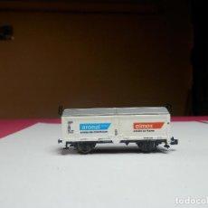 Trenes Escala: VAGÓN CERRADO ESCALA N DE MINITRIX. Lote 297118238