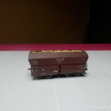 Trenes Escala: VAGÓN TOLVA ESCALA N DE MINITRIX. Lote 297119308