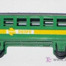 Trenes Escala: PAYA- VAGON VERDE 11,8 CMS + ENGANCHES - V I B. Lote 19400760