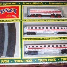 Trenes Escala: PAYA - TREN H0 GALGA A PILAS EN CAJA - REF.2405. Lote 27710511