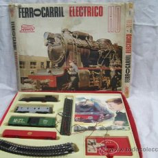 Trenes Escala: TREN ELÉCTRICO. FABRICADO POR PAYÁ. HO. CON CAJA.. Lote 27979750