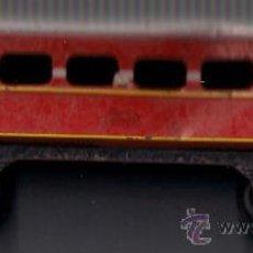 Trenes Escala: 2 VAGONES DE TREN PAYÀ . COLOR ROJO ( HOJALATA ). Lote 29286253